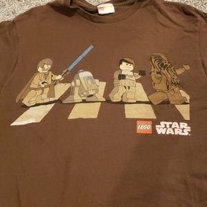Unisex Lego Star Wars Abbey Road t-shirt